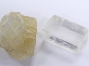 two varieties of calcite