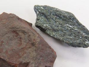 duas variedades de hematita