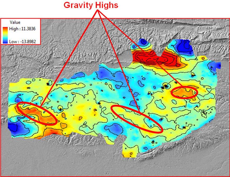 Gravity Highs over the Mardin Uplift