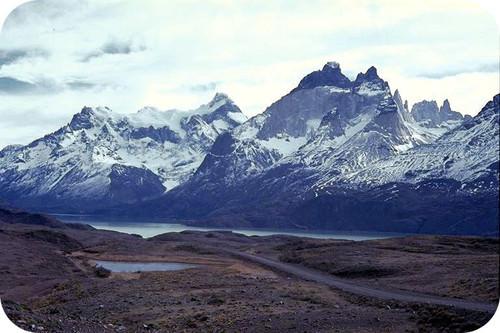 As montanhas dos Andes formadas devido à subducção de placas oceânicas