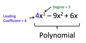 read define and evaluate polynomials intermediate algebra