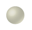 a blank white sphere