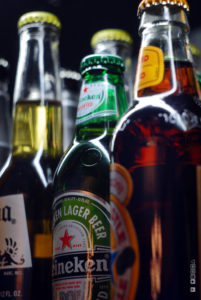 Photo of four bottles of beer