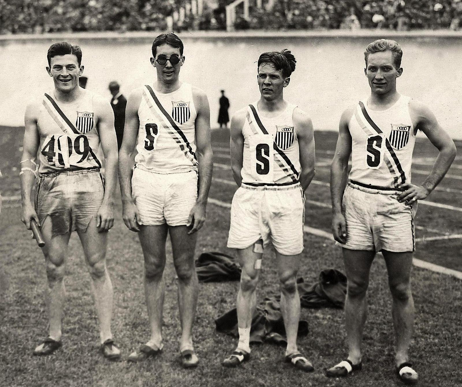 U.S. olympic relay team in 1928