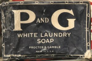 Image of P and G White Laundry Soap by Proctor and Gamble
