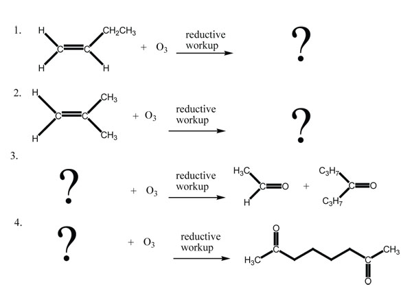Oxidation of Alkenes Cleavage to Carbonyl Compounds – Naming Alkenes Worksheet
