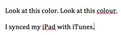 Three sentences of text.