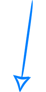 Blue arrow pointing down