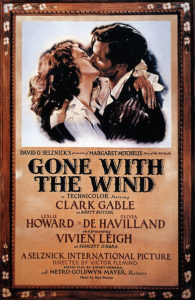 Movie poster for Gone With the Wind