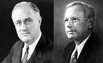 Franklin D. Roosevelt, 1936. Alf Landon, 1936