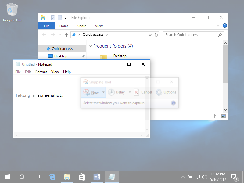 Snips and Screenshots | Computer Applications for Managers