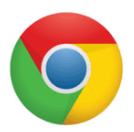 The Google Chrome icon.