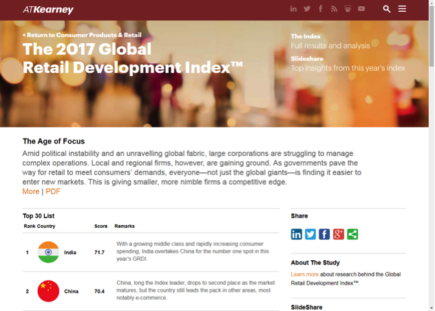 The 2017 global retail development index is open.
