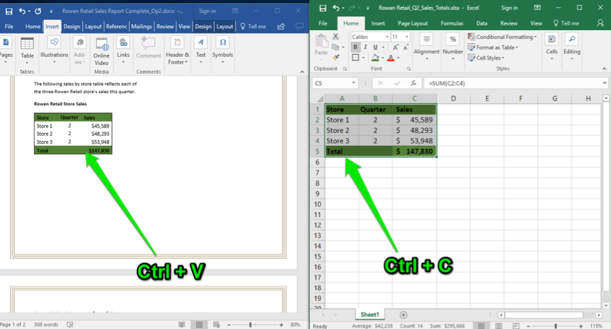 Using Word with Excel and PowerPoint | Computer Applications for