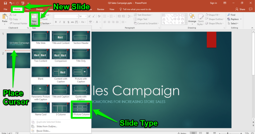 Using Powerpoint With Excel Computer Applications For Managers