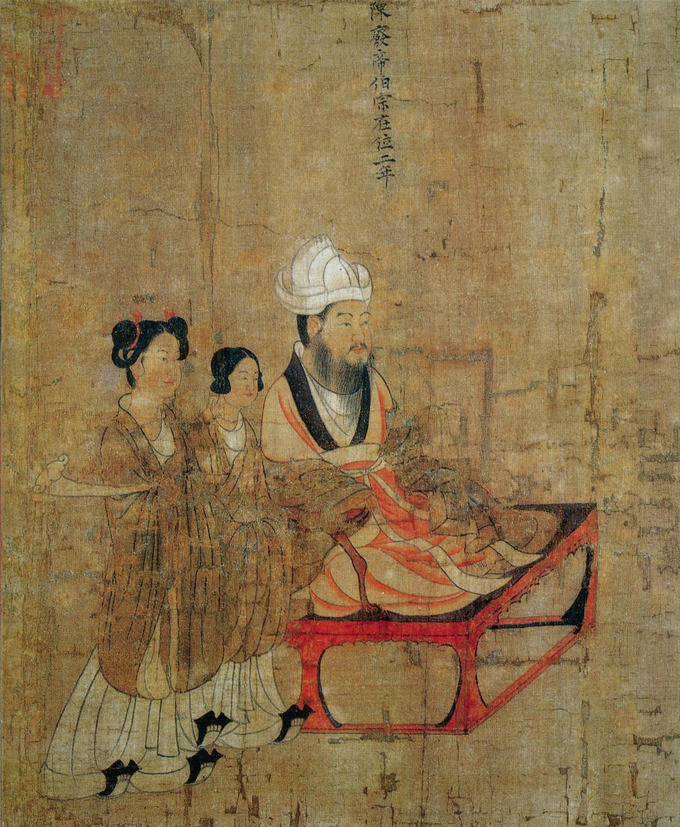 The tang dynasty boundless art history for Dynasty mural works