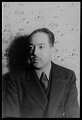 A photo of Langston Hughes.