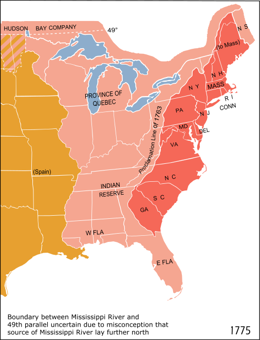 "A note on the map states the following: ""Boundary between Mississippi River and 49th parallel uncertain due to misconception that source of Mississippi River lay further north."""
