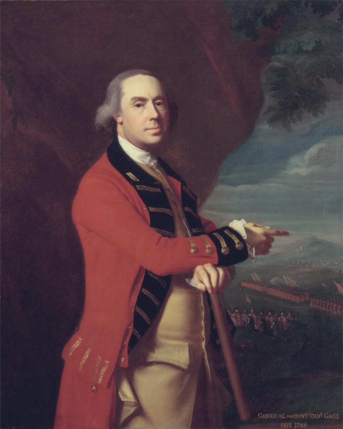 Portrait of Thomas Gage