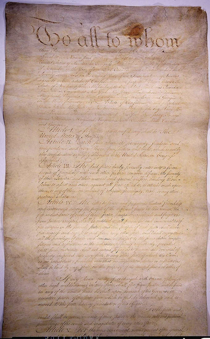 America Under The Articles Of Confederation Boundless Us History