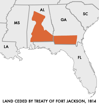 horseshoe bend and the treaty of fort jackson