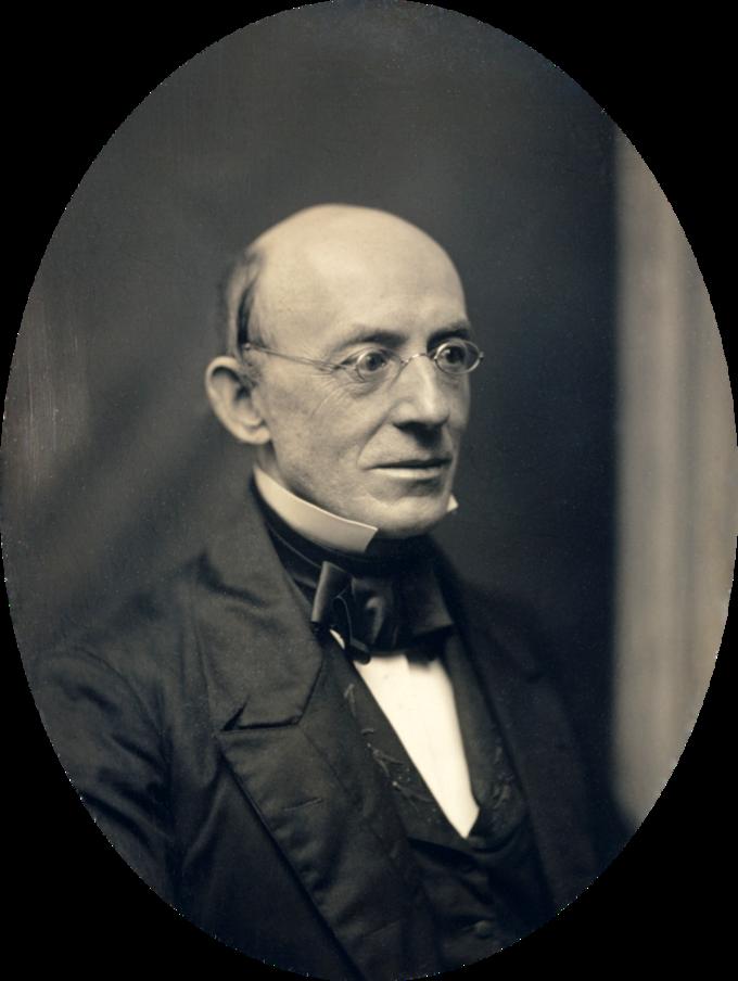 Portrait of William Lloyd Garrison