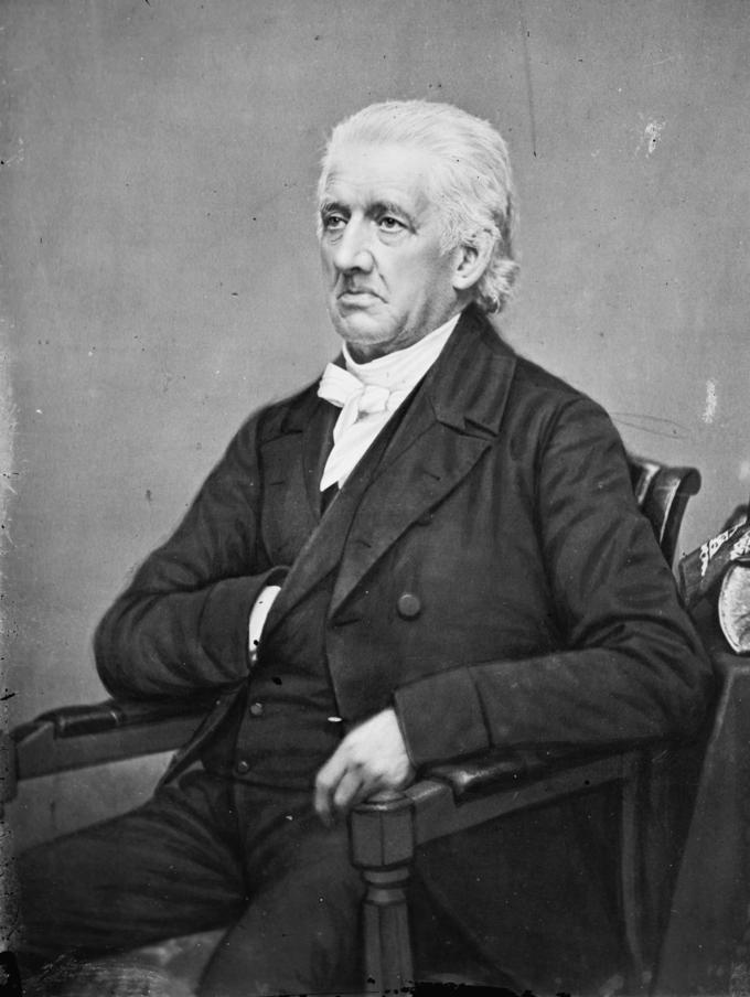 Portrait of Lyman Beecher