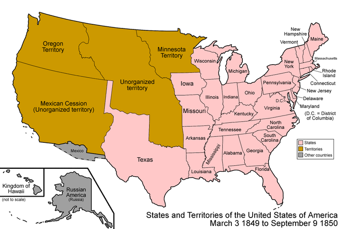 Breakdown Of Sectional Balance Boundless US History - Us slave states map