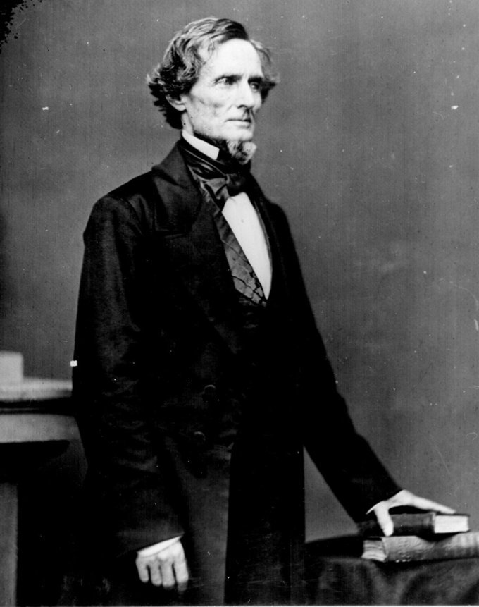 Portrait of Jefferson Davis