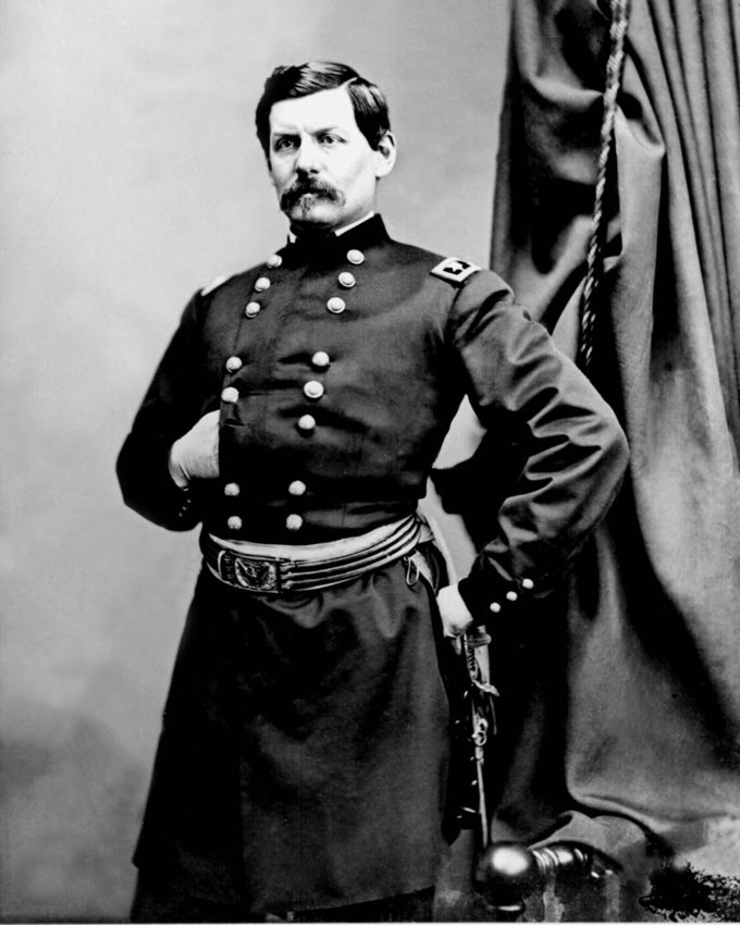 Portrait of General George B. McClellan