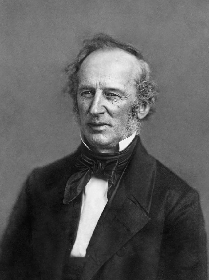 Portrait of Cornelius Vanderbuilt