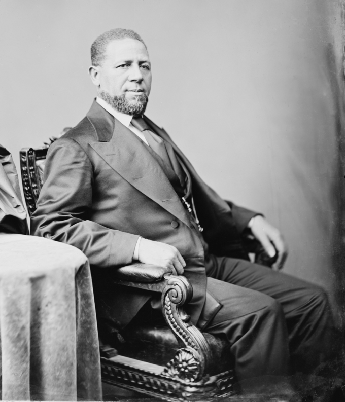 Portrait of Hiram Rhodes Revels
