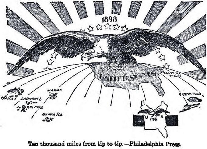 American Imperialism Boundless US History - Us territorial influence 1914 map answers