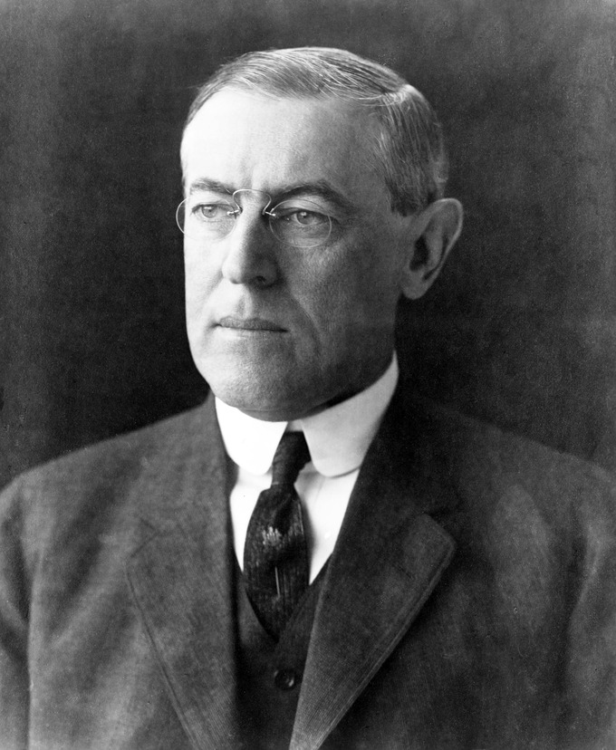 Portrait of Woodrow Wilson