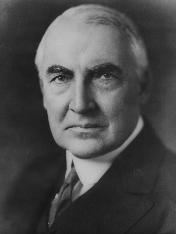 Portrait of Warren G. Harding