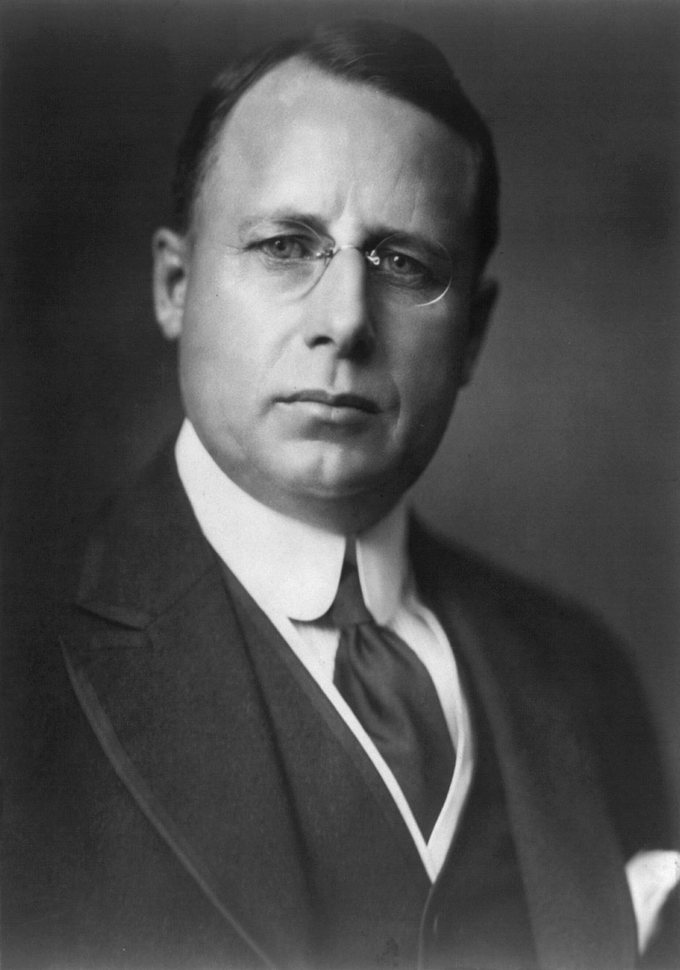 Portrait of James M. Cox