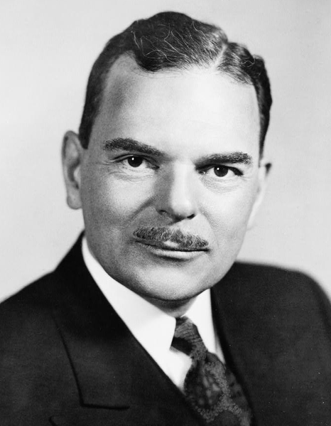 Photo portrait of Thomas Dewey