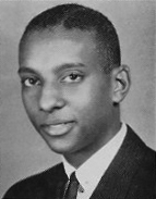 Photo of Stokely Carmichael as a senior in high school.