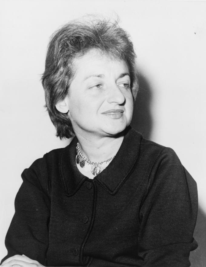 Photograph of Betty Friedan