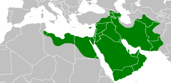 Today, the Rashidun Calipate is part of 30 countries: Afghanistan, Armenia, Azerbaijan, Bahrain, Cyprus, Egypt, Georgia, Iran, Iraq, Israel, Italy, Jordan, Kuwait, Lebanon, Libya, Oman, Pakistan, Palestine, Qatar, Russia, Saudi Arabia, Sudan, Syria, Tajikistan, Tunisia, Turkey, Turkmenistan, United Arab Emirates, Uzbekistan, and Yemen.