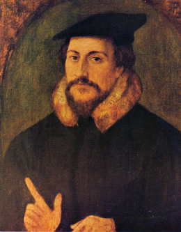 Portait of John Calvin