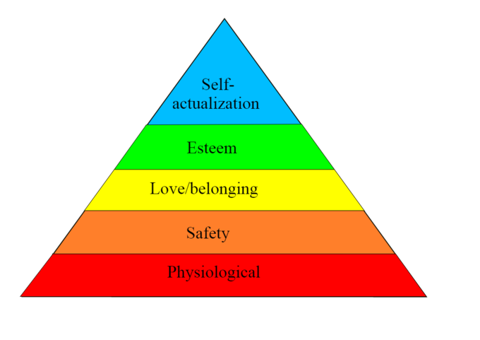 Maslow's Hierarchy of Needs underlines the importance of upper level motivators and the fulfillment of intrinsic needs as employees develop into roles of responsibility.
