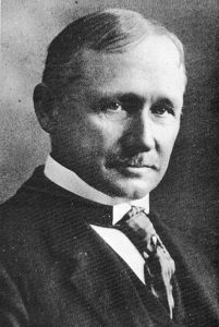 A headshot of Frederick Winslow Taylor