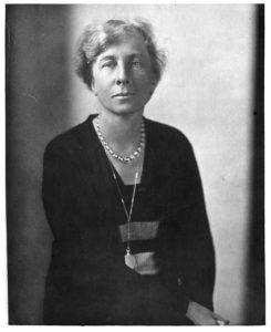 Portrait of Lillian Gilbreth