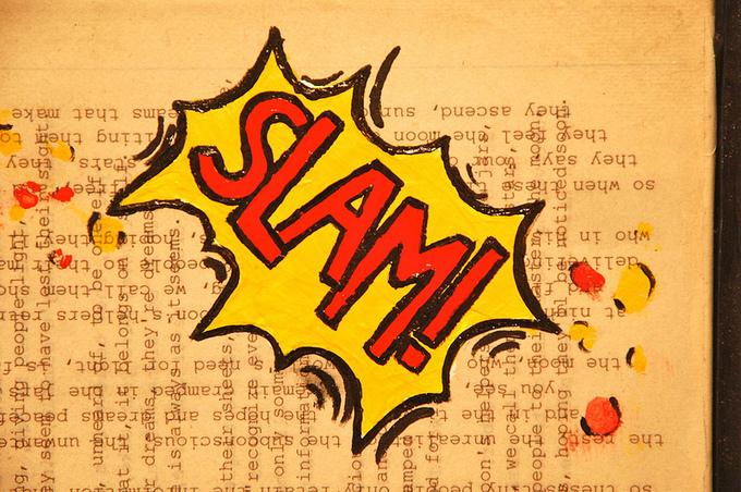 """The word """"Slam."""""""