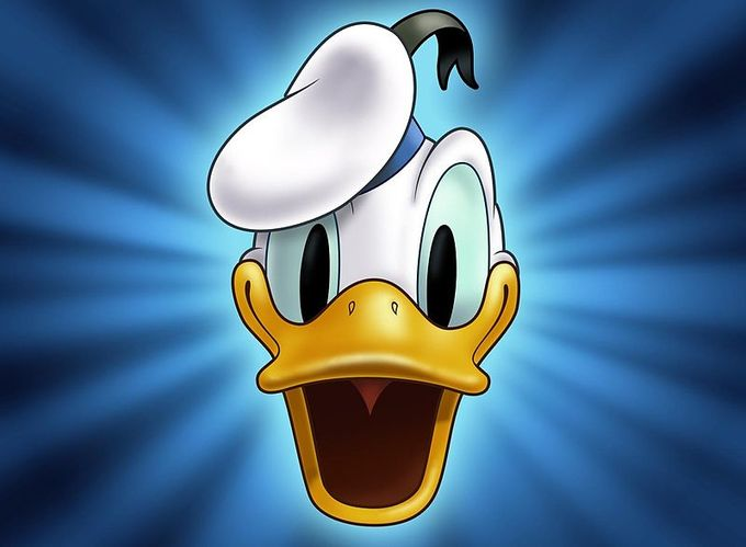 A picture of Donald Duck.