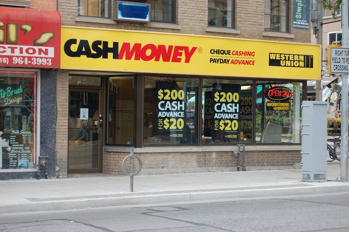 day loans cash money store
