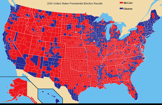 Culture Wars So Called Red State Blue State Maps Have Become Popular For Showing Election Results Some Suggest That The Red State Blue State Divide Maps