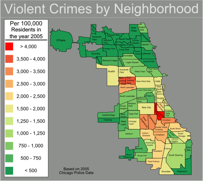 Crime Boundless Sociology - Crime in us map