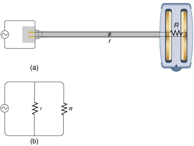 short circuit: a short circuit is an undesired low-resistance path across a  voltage source  (a) worn insulation on the wires of a toaster allows them  to